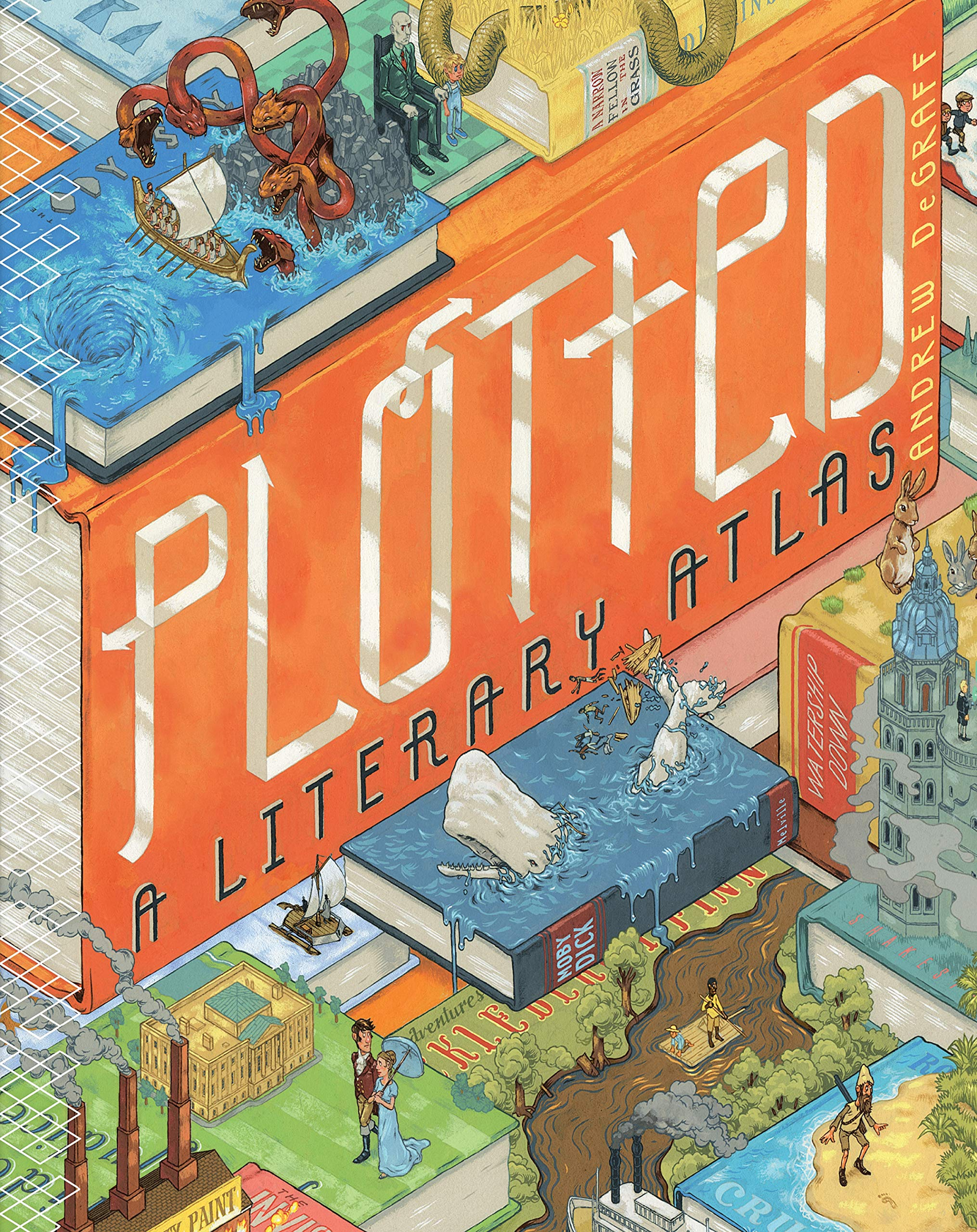 The Best Ipad Apps For Toddlers New Atlas >> Plotted A Literary Atlas Daniel Harmon Andrew Degraff