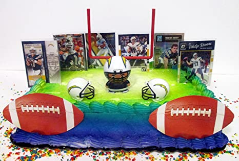Image Unavailable Not Available For Color LOS ANGELES CHARGERS Team Themed Football Birthday Cake