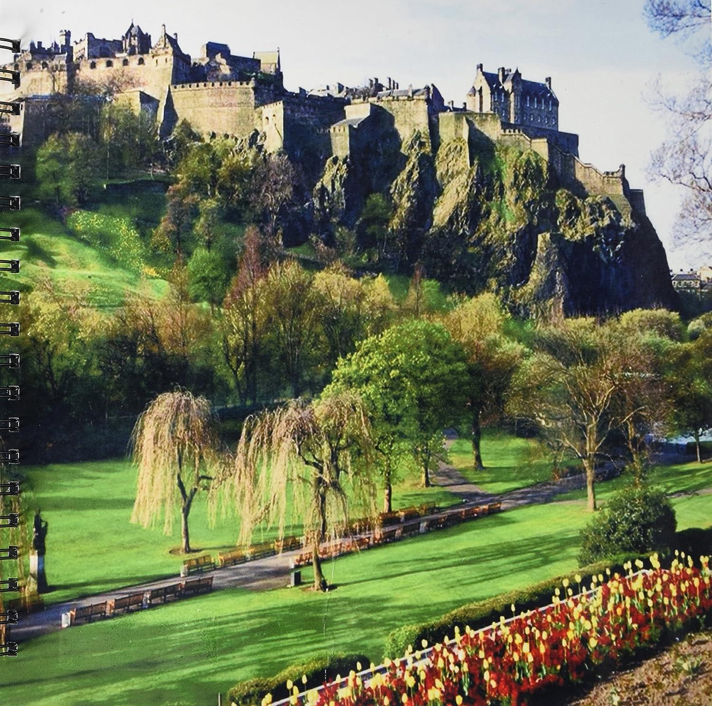 3dRose db_54126_2 エディンバラの城 スコットランド 記憶ブック 12x12インチ B00BK9641Y