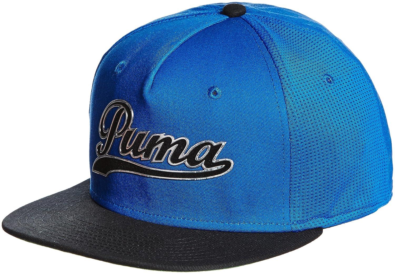 Puma Golf Hombre escritura GORRA snapback - Azul, One Size: Amazon ...