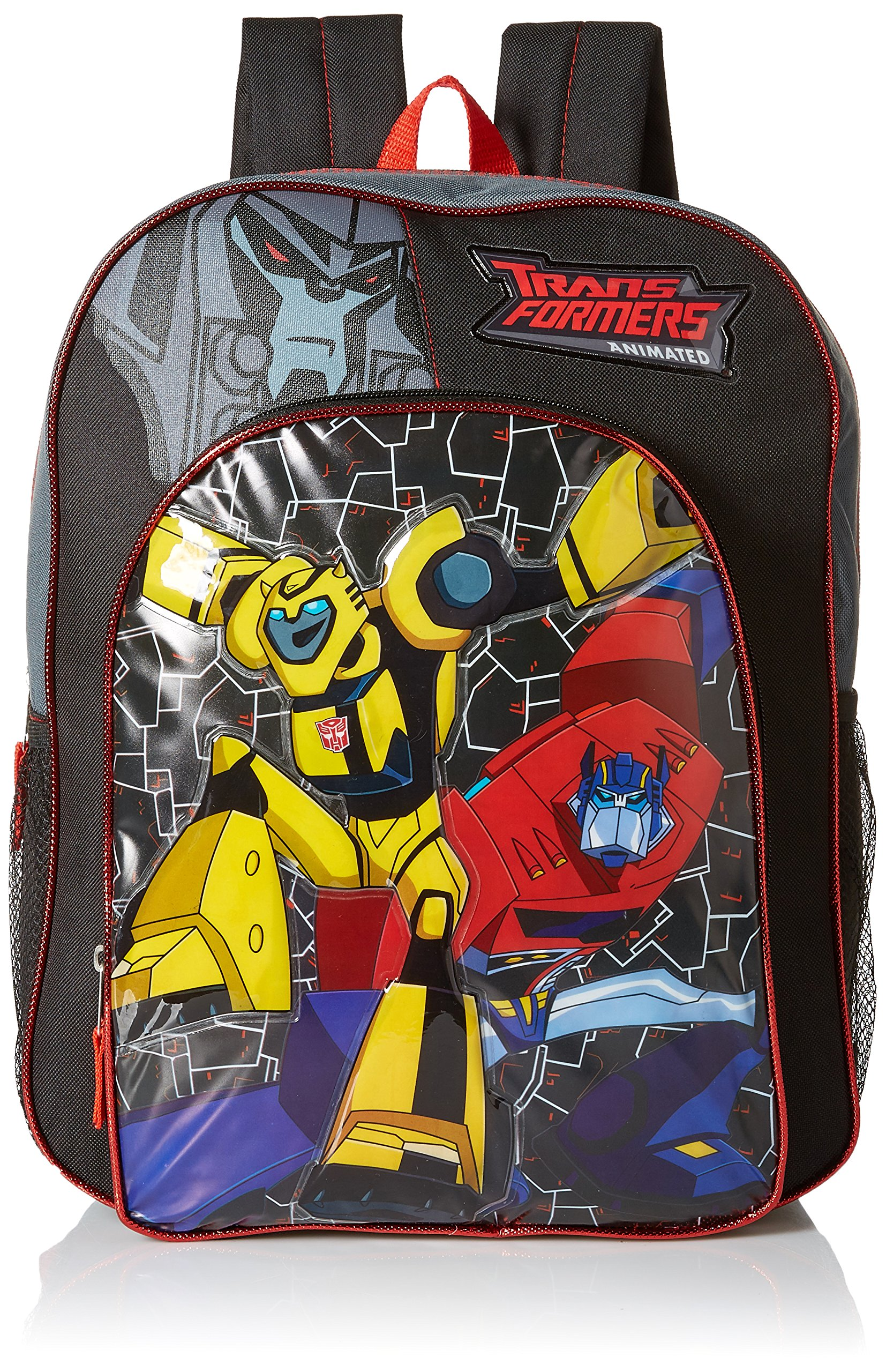 Backpack Transformer Black: Hasbro Boys' Transformers Backpack With Lights