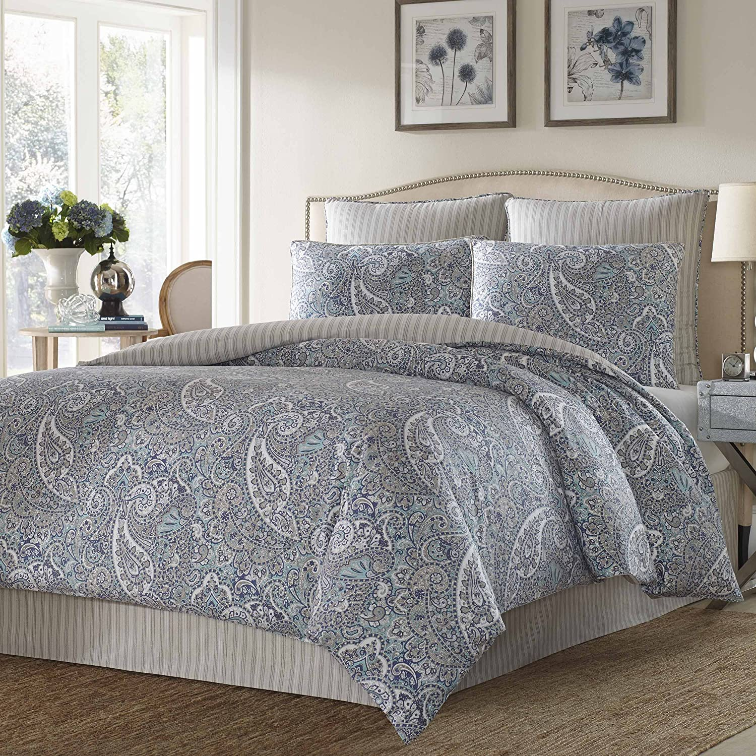 treasures product king living biolan qvc set comforter scott sateen or piece com page