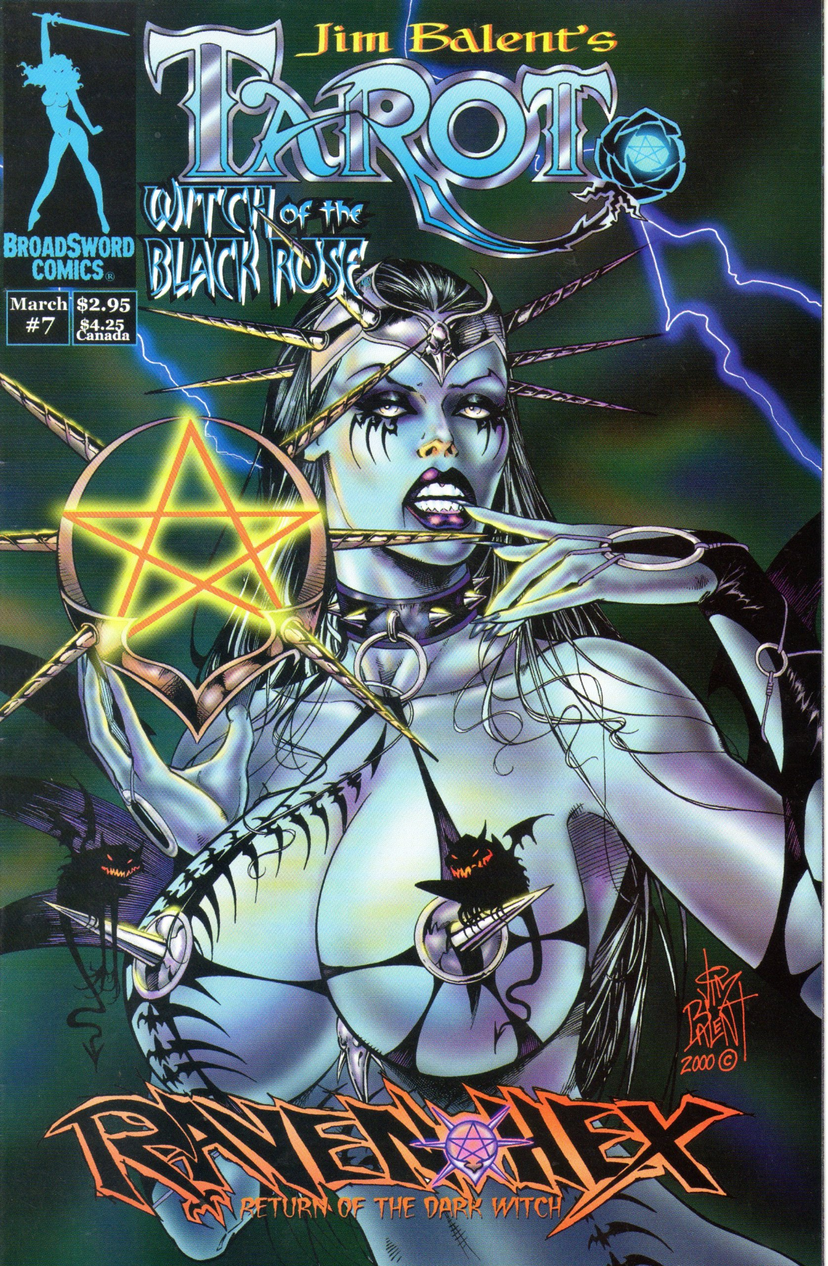 Download Tarot Witch of the Black Rose #7 Jim Balent Cover ebook
