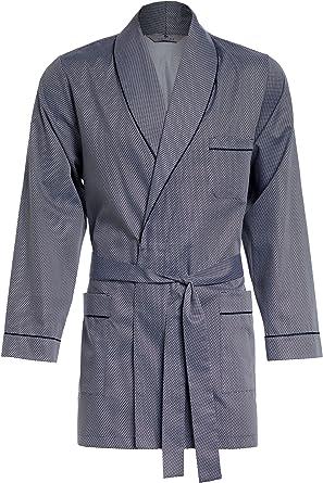Revise Vestaglia da Uomo Elegante Accappatoio RE-509 Corta 100/% Cotone