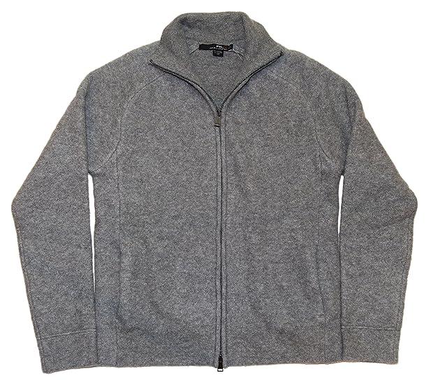 Polo Ralph Lauren RLX Mens Cashmere Half Zip Cardigan Sweater Grey Small