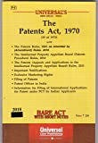Patents Act, 1970 along with Rules, 2003