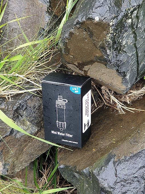 Stranded Island - Mini Sistema de filtración de Agua para Camping ...
