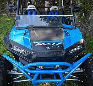 RZR S1000 Polaris RZR XP1000 900S EPS Trail UTV HALF WINDSHIELD with Clamps