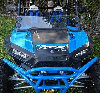 Amazon.com: RZR XP1000 XP 1000 TURBO 900S 900 TRAIL HALF WINDSHIELD WITH CLAMPS #AC-HW-15-RZR: Automotive