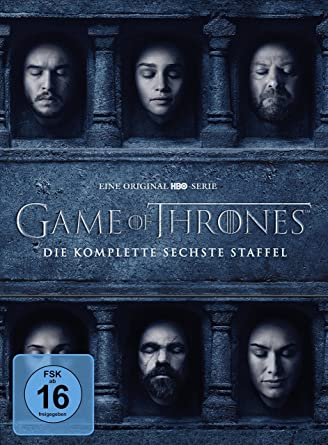 Game Of Thrones Die Komplette Sechste Staffel 5 Dvds Amazonde