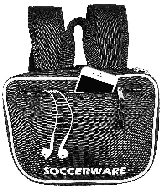 Amazon.com: Mochila de fútbol con compartimento para pelota ...
