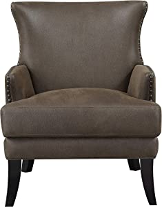 Emerald Home Furnishings Nola Accent Chair, Brown