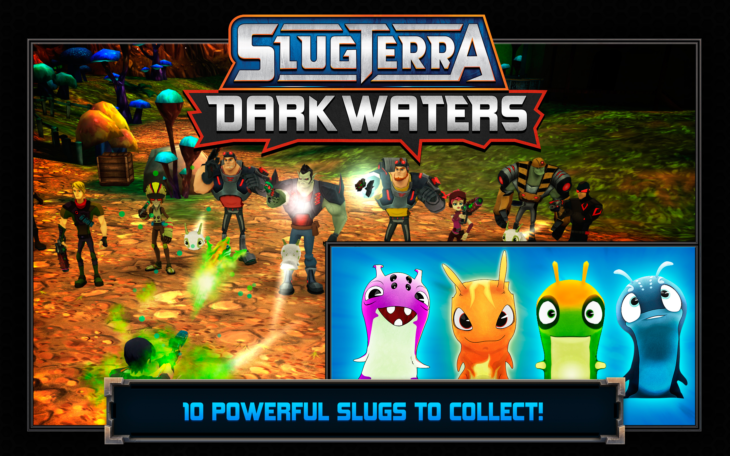 Amazon Com Slugterra Dark Waters Appstore For Android