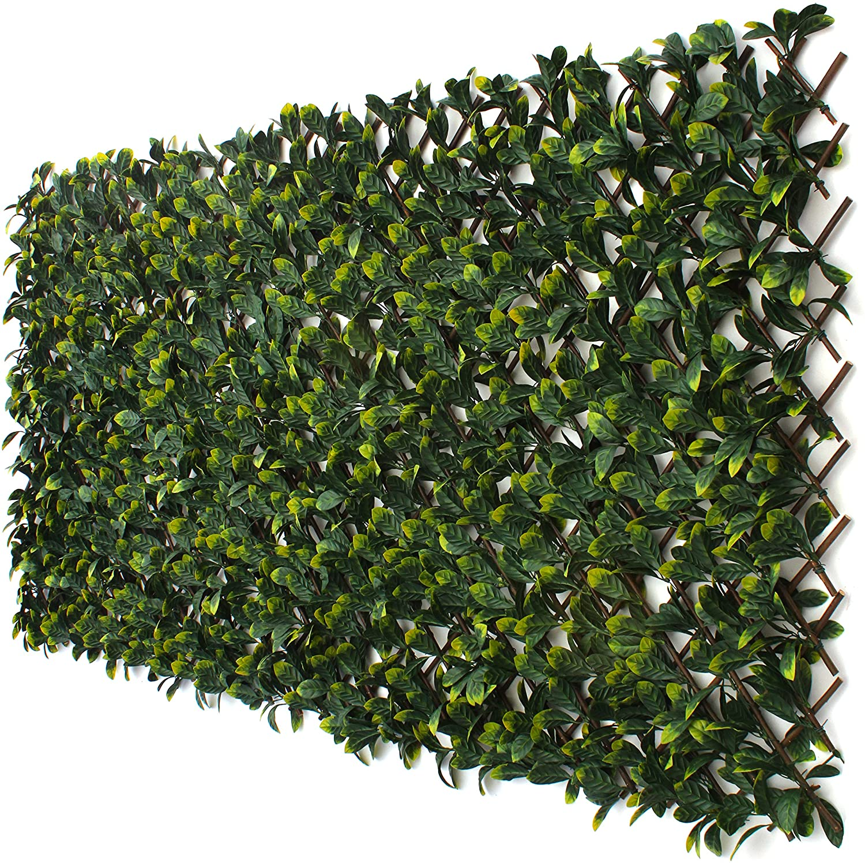 3 Street Inn Laurel Leaf Gitter Bambus Greenery Panel