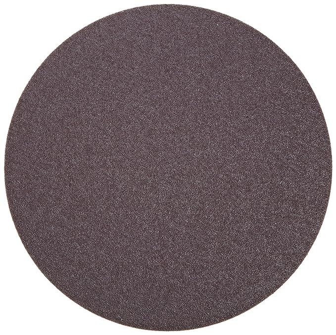 Pressure Sensitive Adhesive Cotton Backing Norton Metalite R228 PSA Disc Grit 36 8 Diameter Aluminum Oxide Pack of 5