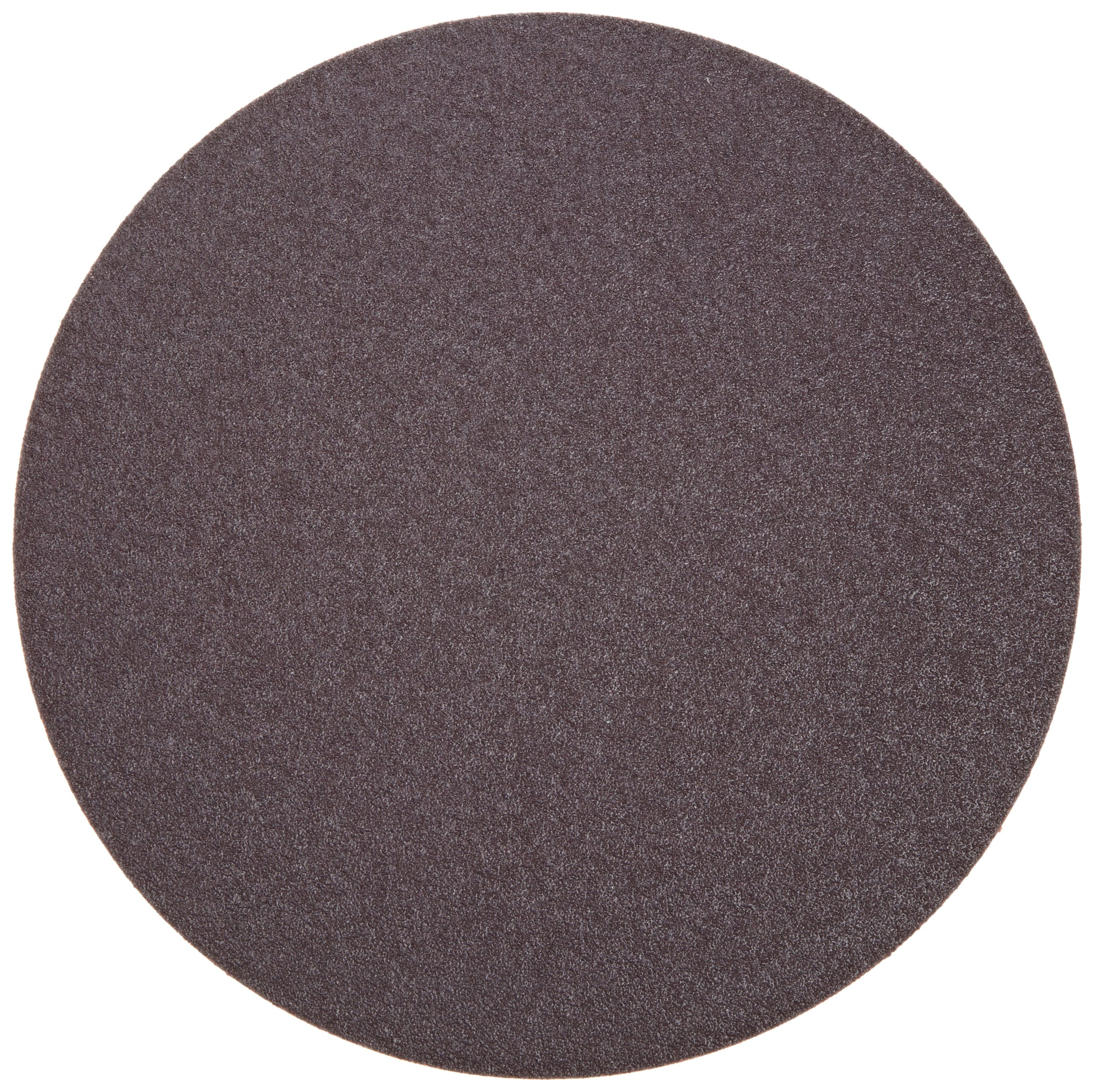 Norton Metalite R228 PSA Disc, Cotton Backing, Pressure Sensitive Adhesive, Aluminum Oxide, 10'' Diameter, Grit 80 (Pack of 5)