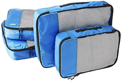 AmazonBasics - Bolsas de equipaje (2 medianas, 2 grandes; 4 ...