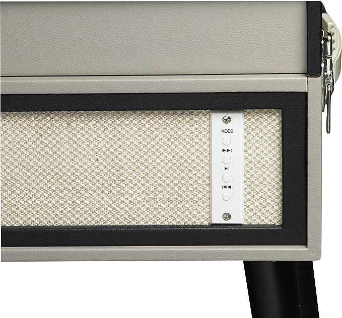 Denver VPL-150BT - Tocadiscos con Bluetooth, Diseño Maleta: Amazon ...
