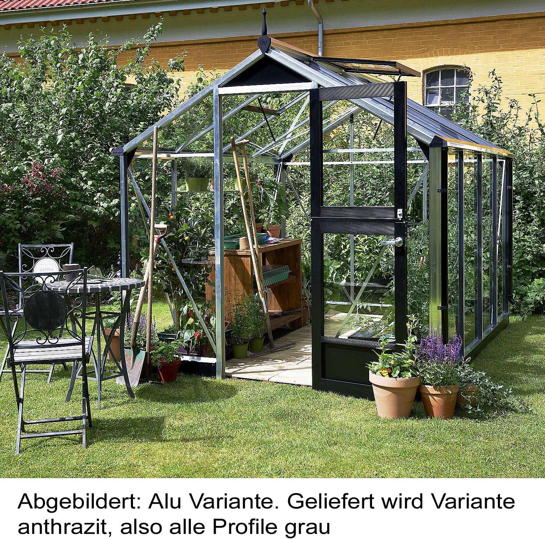 Juliana Invernadero compacta 8.2 aluminio cristal de seguridad: Amazon.es: Jardín