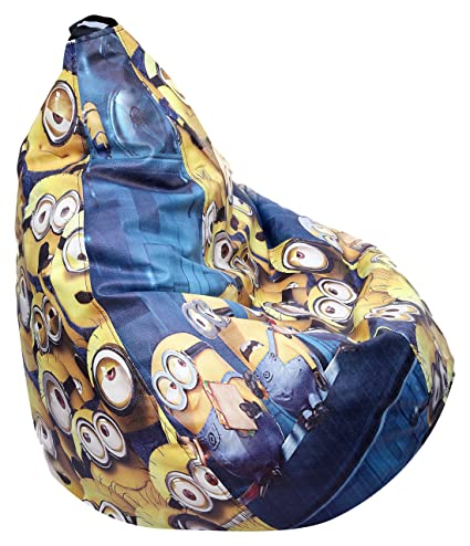 Stupendous Jb Bags Minions Printed Xxxl Bean Bag Cover Jb0011M Caraccident5 Cool Chair Designs And Ideas Caraccident5Info