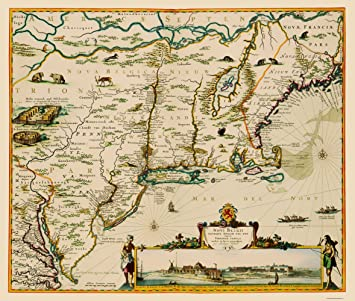 State Map East Coast.Amazon Com Old State Map Us East Coast Chesapeake Bay To Maine