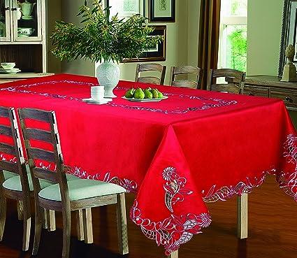 Amazon.com: Royal Bedding Sydney Table Cloth, Luxury ...