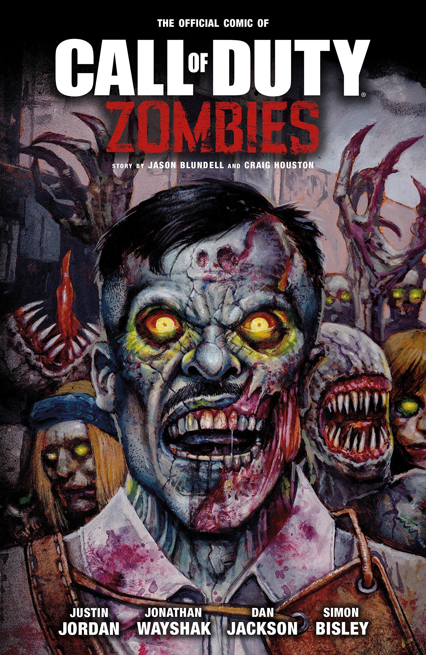 Amazon Com Call Of Duty Zombies 9781506703053 Jordan Justin