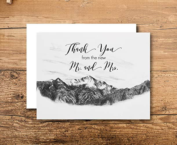 personalized wedding thank you cards - Custom Wedding Thank You Cards