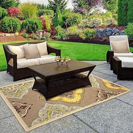 Laura Ashley Garden Furniture Amazon laura ashley allie 8 x 11 indooroutdoor rug home laura ashley allie 8 x 11 indooroutdoor rug workwithnaturefo