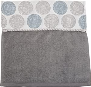 Avanti Linens Dotted Circles WASH, Medium, Nickel