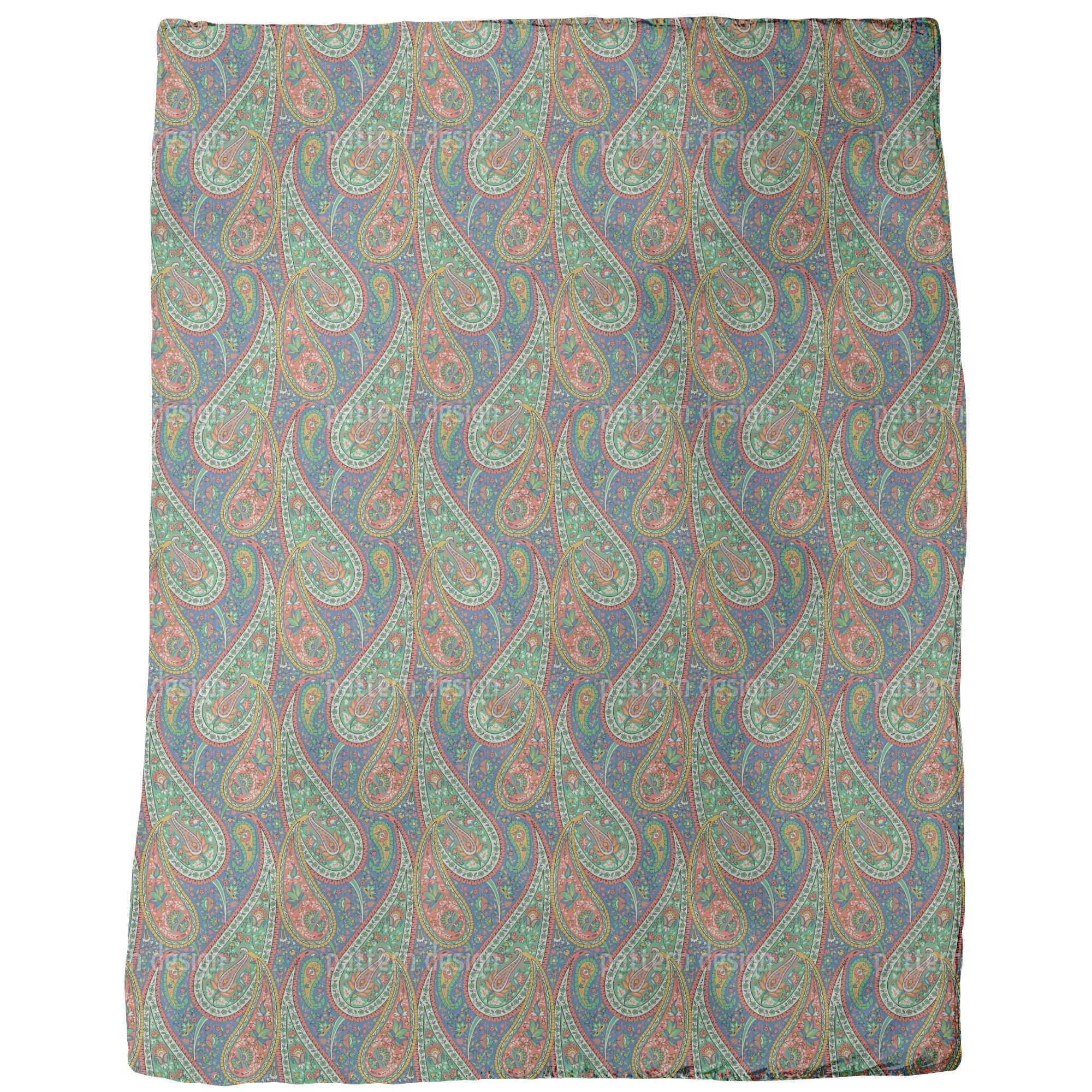 Filigree Paisley Blanket: Large by uneekee (Image #1)
