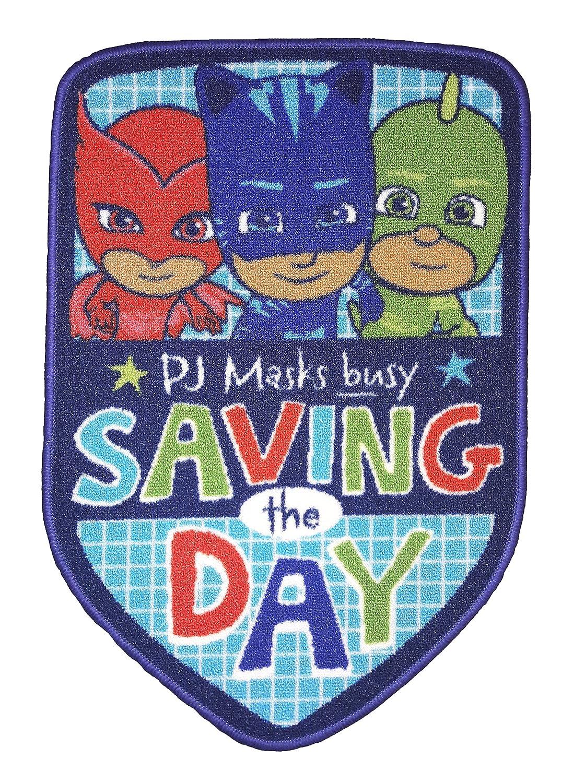 PJ Masks Save The Day Shaped Floor Rug DreamTex RUG-PJM-STD-15