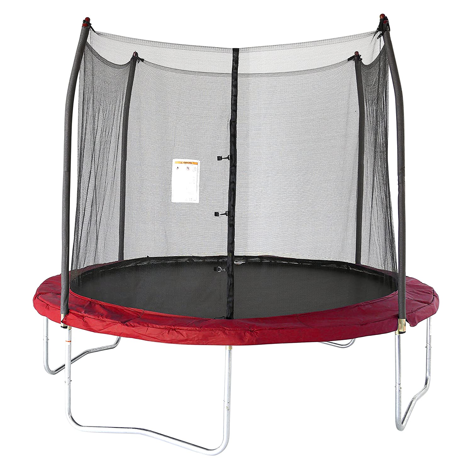 Skywalker Trampolines 10 Ft. Round Trampoline and Enclosoure with Spring SWTC1000