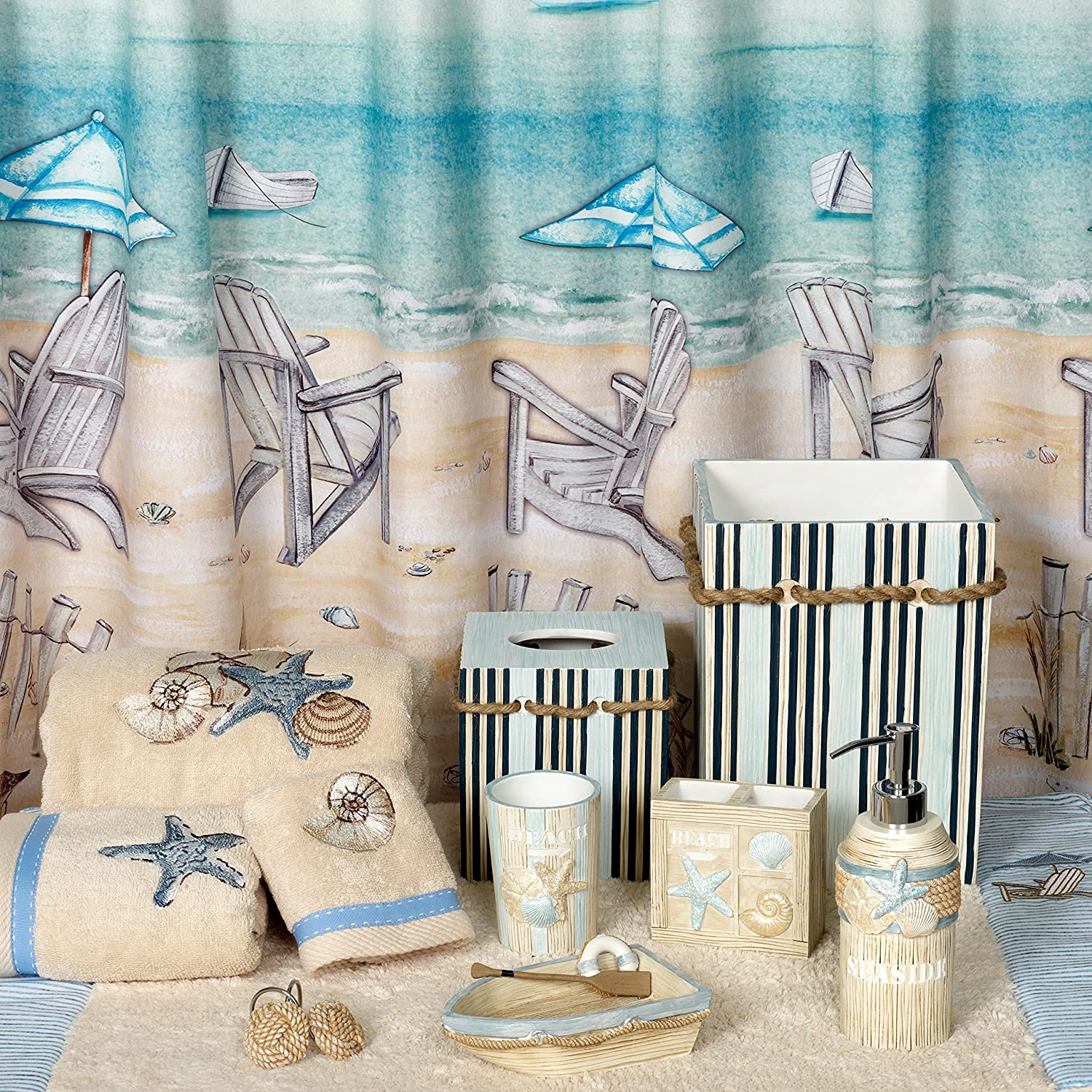 beach shower style glass tub sink bath themed curtain modern windows also curtains pattern with vinyl and