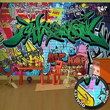 Papier Peint Du Style De Rue Decoration De Peinture Murale De