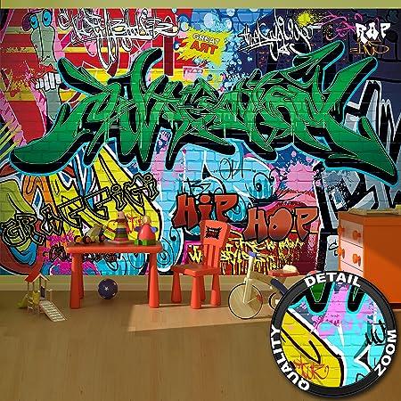 Wall Mural Street Style Decoration Graffiti Art Writing Pop Letterings Painting Urban