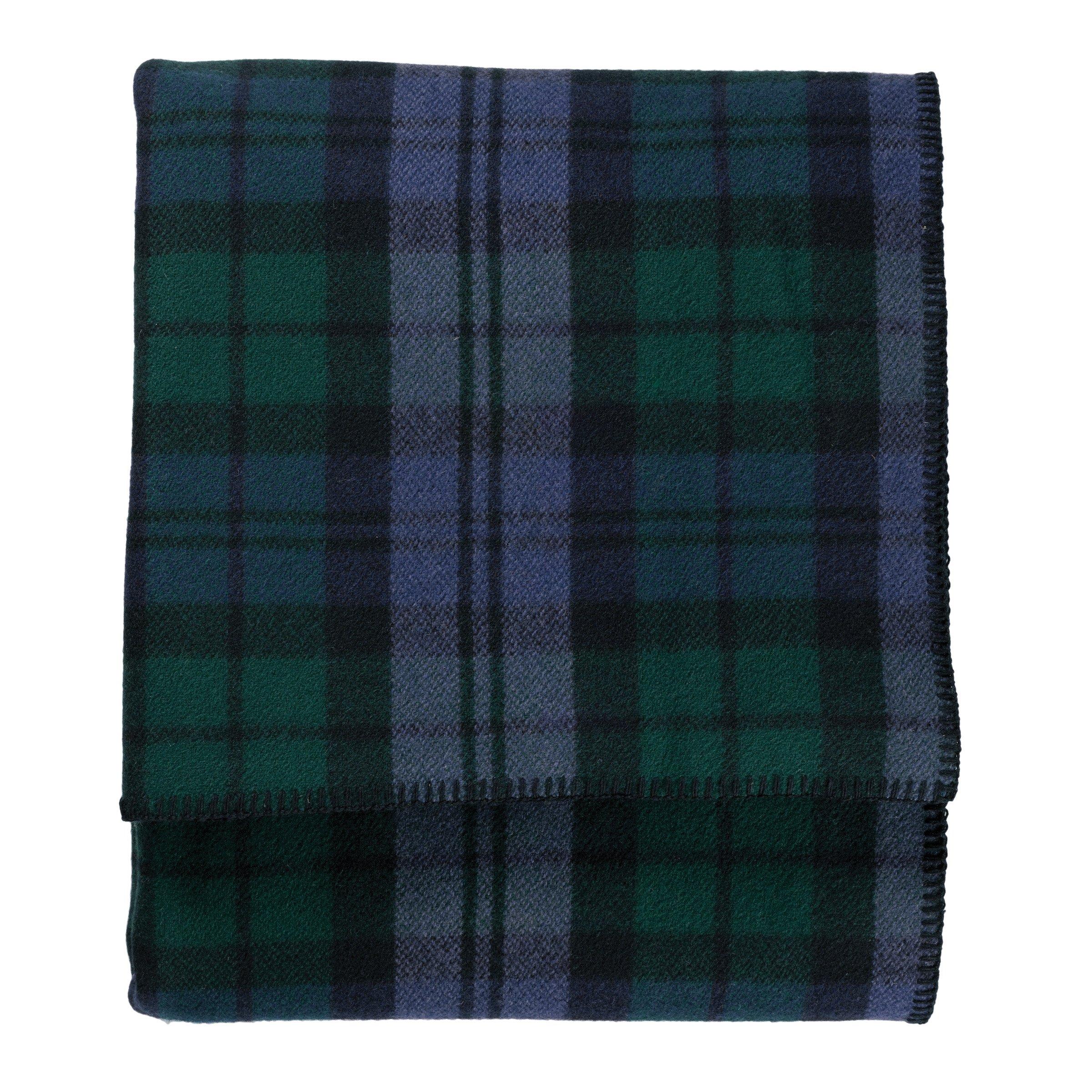 Pendleton Easy Care Bed Blanket, King, Black Watch