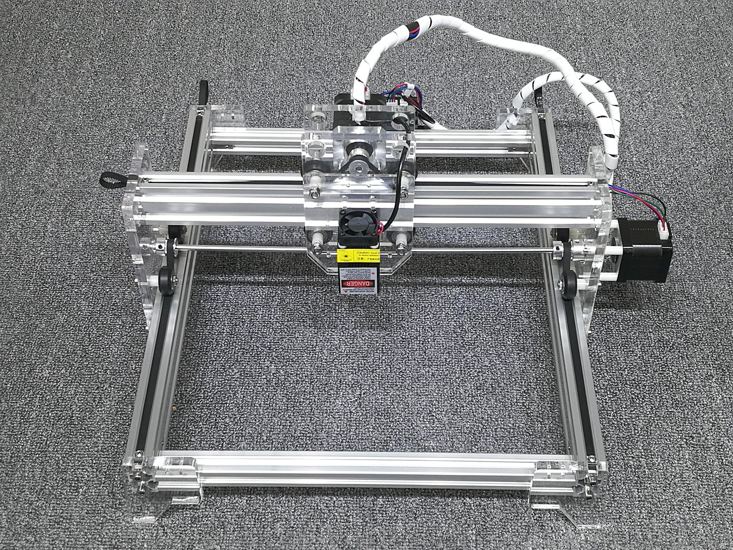 DIY 7000mw laser engraving machine / Laser Engraver / 201,304,stainless steel engraving machine / stone engraving machine / metal engraving Working Area:16cm20cm