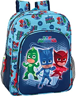 PJ Masks Hero - Mochila Junior Adaptable a Carro (Safta 611717640)