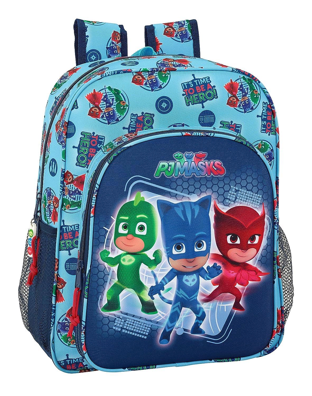 PJ Masks Hero - Mochila Junior Adaptable a Carro (Safta 611717640)