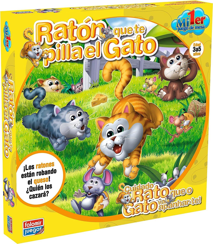 Falomir - Ratón Que te pilla el Gato, Juego Educativo (25002): Amazon.es: Juguetes y juegos