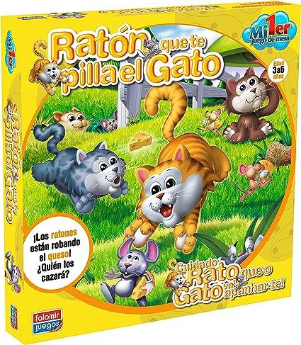 Raton Que Te Pilla El Gato Mi Primer Juego De Mesa Toys Games
