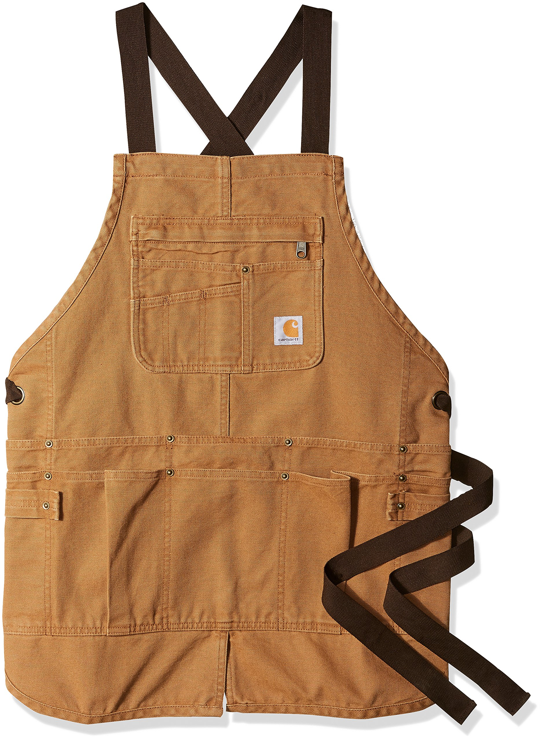 Carhartt Women's Weathered Duck Wildwood Apron, Brown, OFA