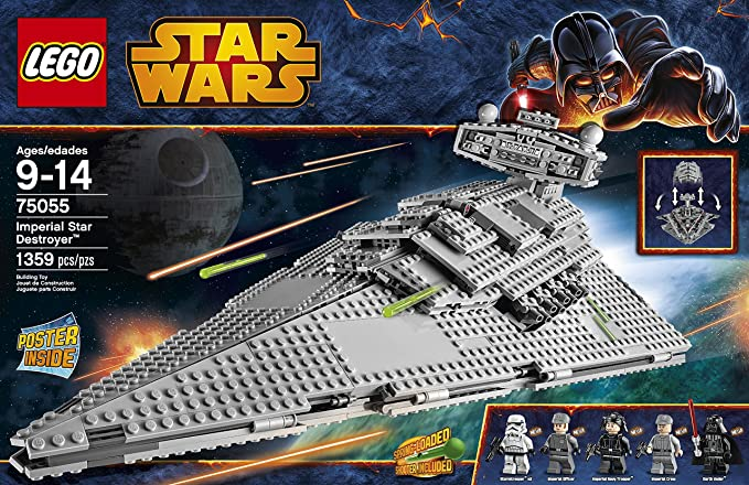 LEGO Star Wars 75055 Imperial Star Destroyer Building Toy NEW
