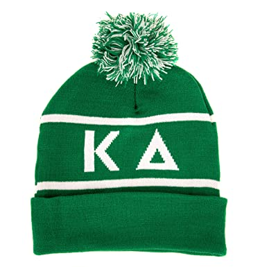b20b9c7c906cc Image Unavailable. Image not available for. Color  Kappa Delta Letter  Winter Beanie Hat Greek Cold Weather Winter KD