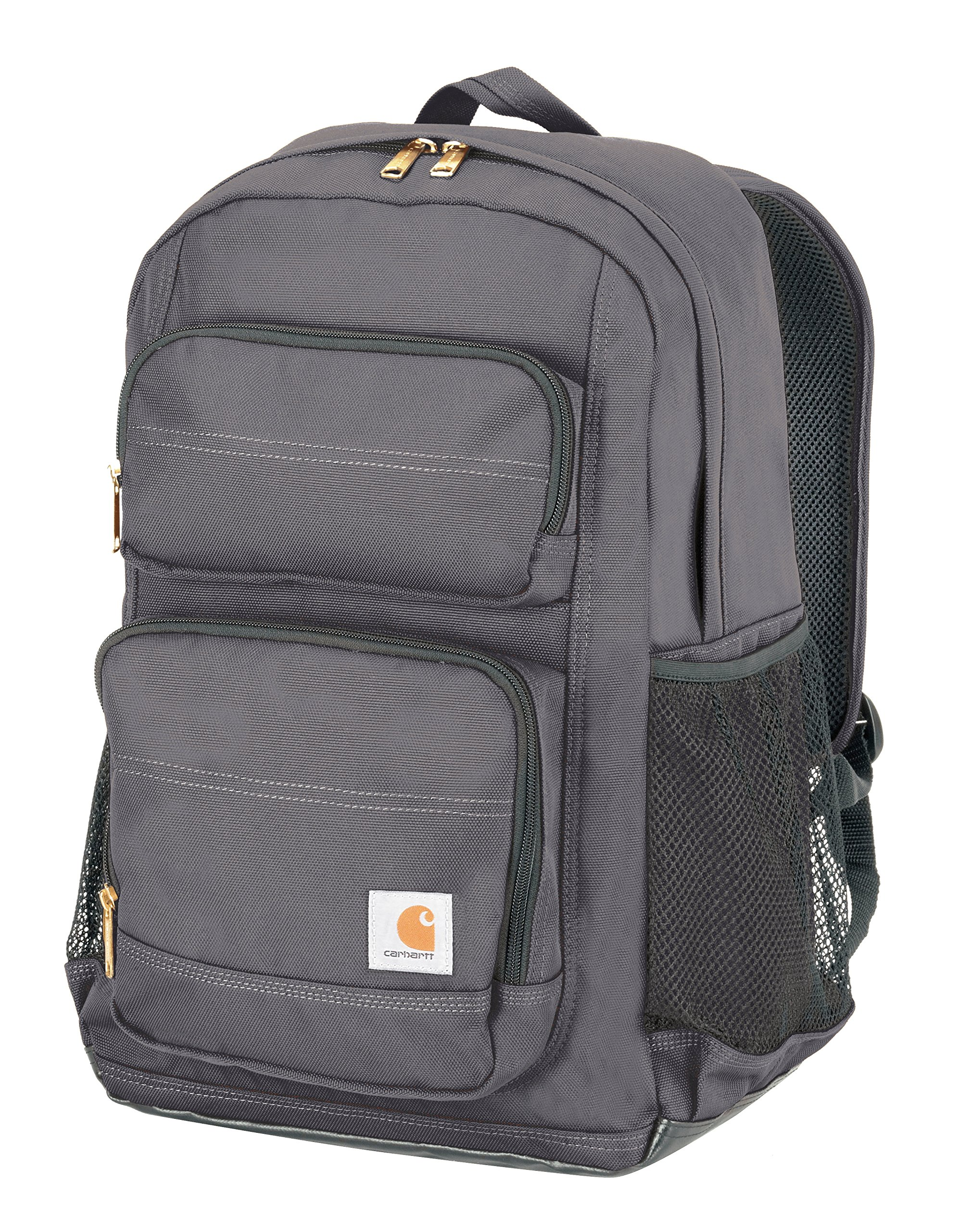 Carhartt Legacy Standard Work Backpack with Padded Laptop Sleeve and Tablet Storage, Grey by Carhartt