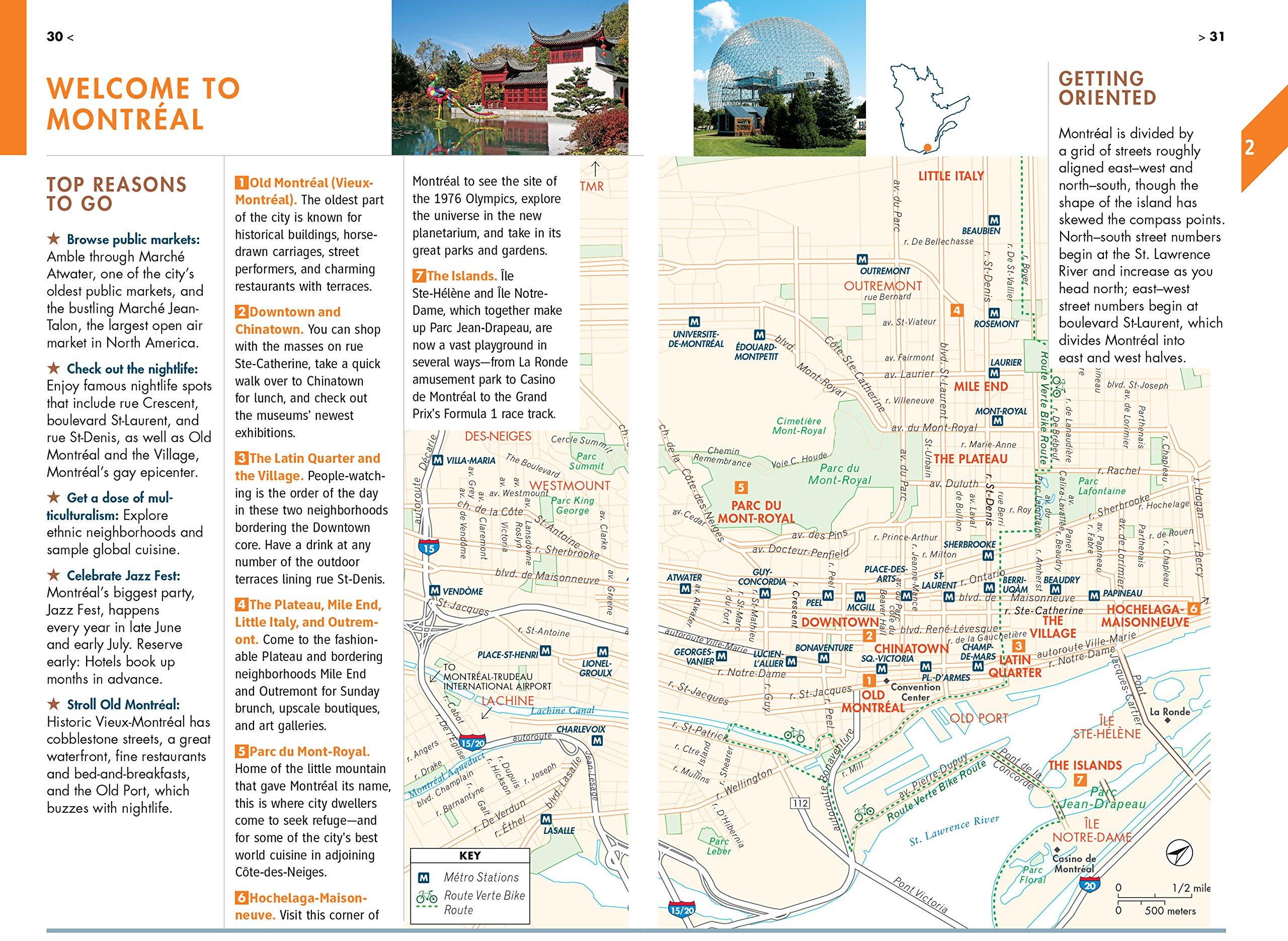 Quebec City Tour Map on