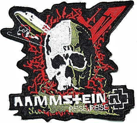 Calavera Rammstein música banda Heavy Metal Punk Rock Logo hierro ...