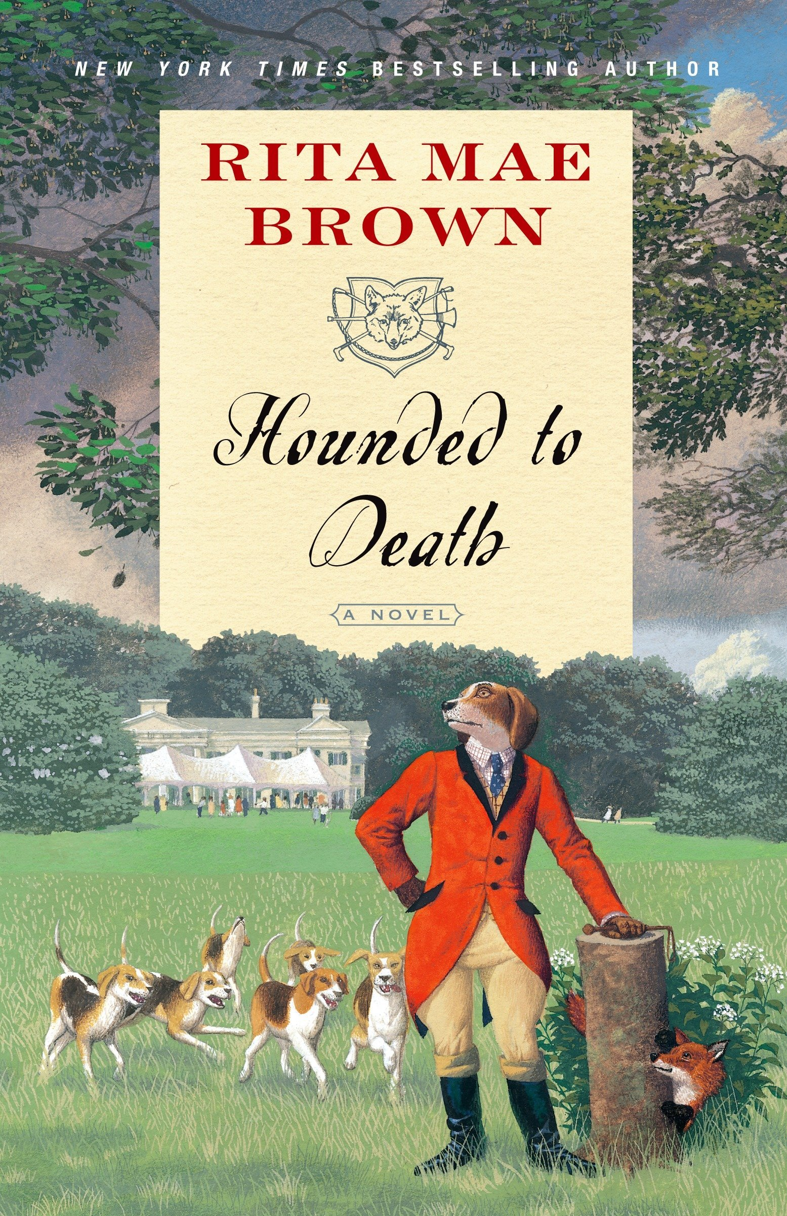 """Amazon.com: Hounded to Death: A Novel (""""Sister"""" Jane) (9780345512376): Rita  Mae Brown: Books"""