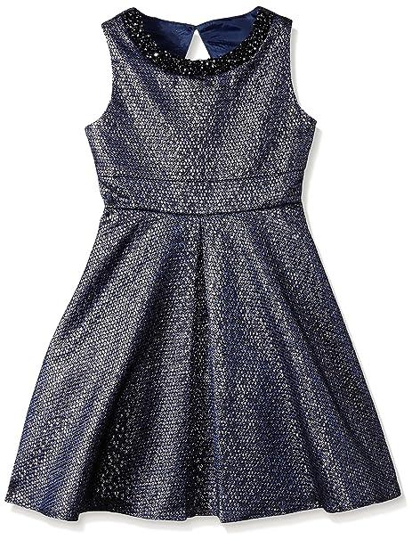 e1d1e9d1c3 Amazon.com  Rare Editions Big Girls  Jacquard Dress
